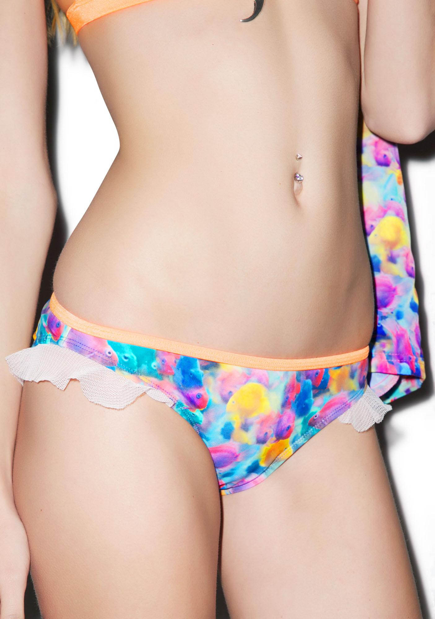 Hot!MeSS Under The Sea Triangle Bikini