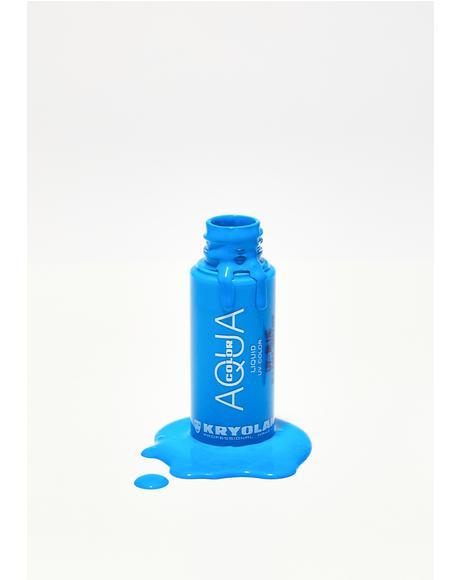 Blue Aquacolor Liquid UV Color