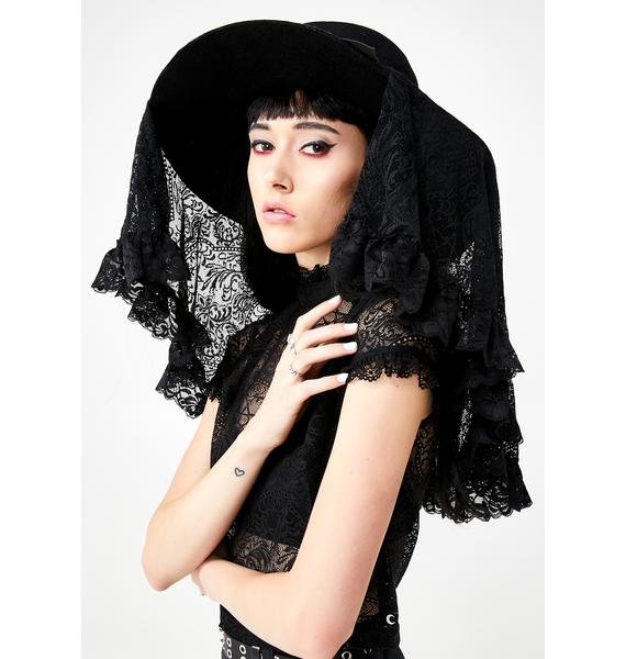 Killstar Lydia Lace Veil