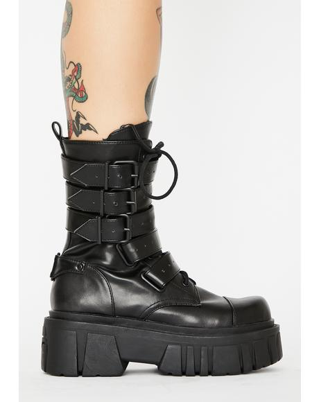 Industrial Uproar Combat Boots