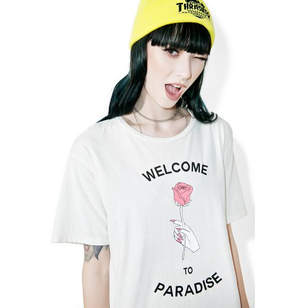 Hips and Hair Paradise Tee