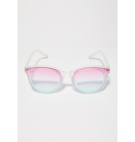 Watchin' Sunsets Ombre Sunglasses