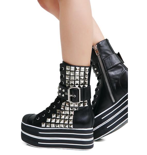 Charla Tedrick Dee Platform Sneakers