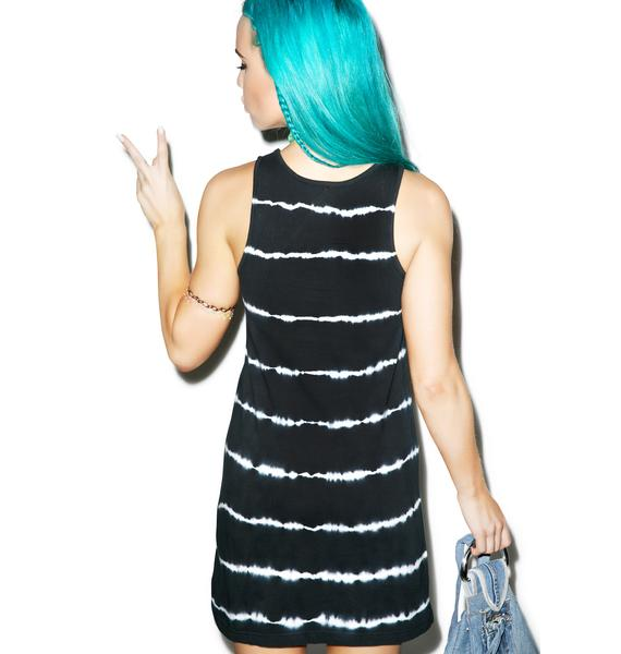 Disturbia Neuron Tie-Dye Tank Dress
