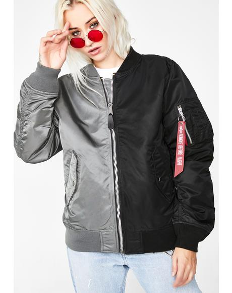 L-2B Hybrid Reversible Flight Jacket