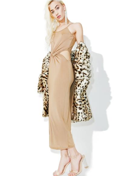 Gobi Cutout Maxi Dress