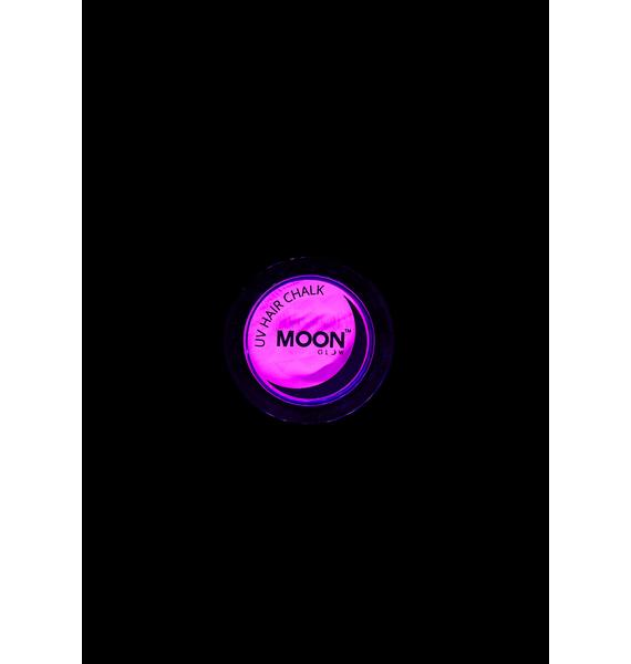 Moon Creations Neon Intense Purple UV Hair Chalk