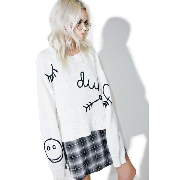 Wildfox Couture Duh YR Dreams Sweater