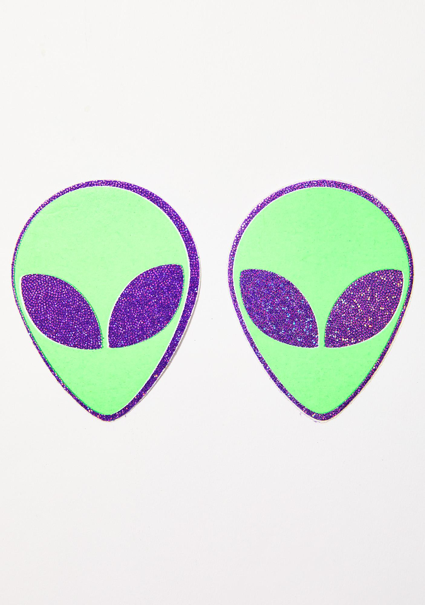 Pastease Alien Head Pasties