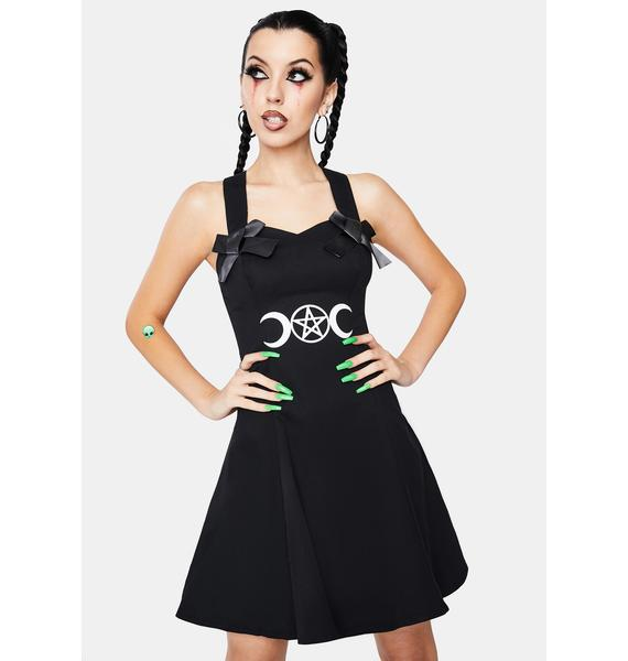 Dr. Faust Moon Child Mini Dress
