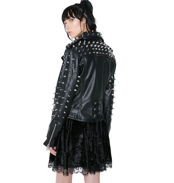 Killstar Billie Studded Biker Jacket