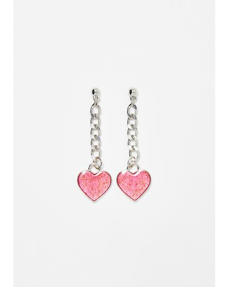 Hazy Dream Chain Earrings