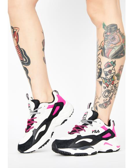 Pink Gardenia Ray Tracer Sneakers
