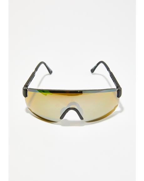 Spitting Image Shield Sunglasses