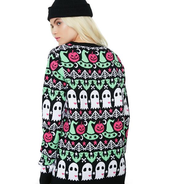 Spooky Crew Sweater