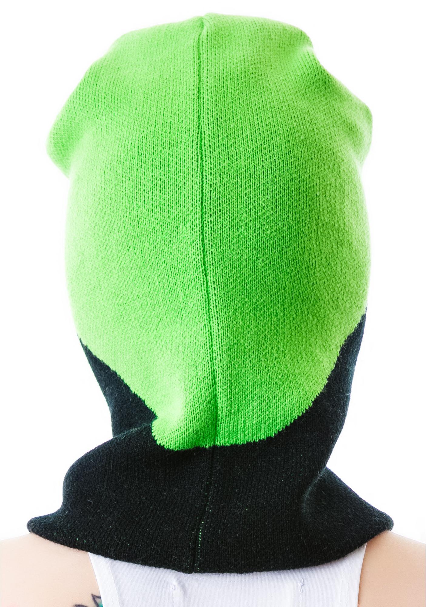 Alien Invasion Knit Mask