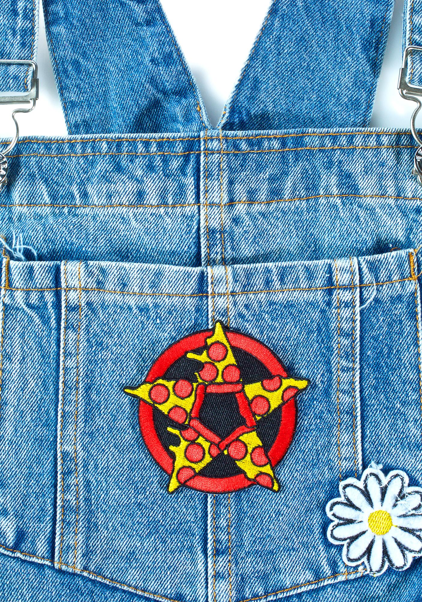 Sourpuss Clothing Pizza Pentagram Patch