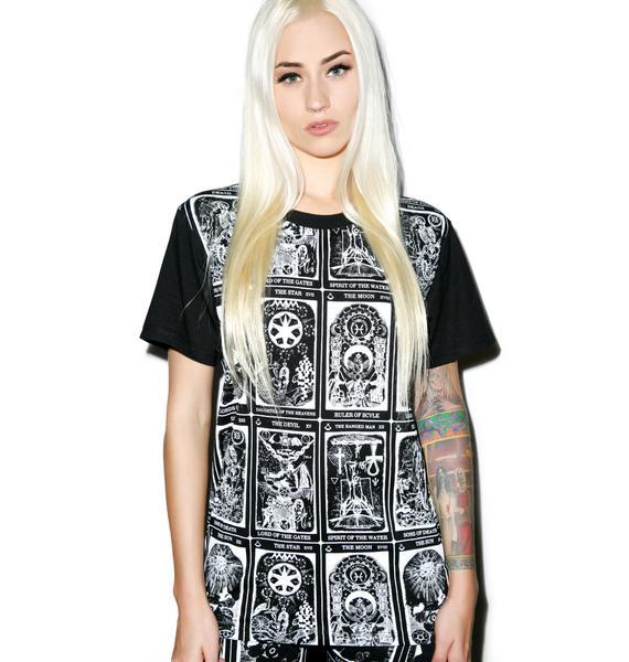 Black Scale Trionfi T-Shirt