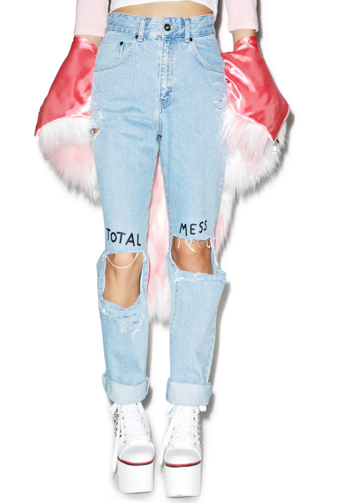 Lazy Oaf Total Mess Jeans