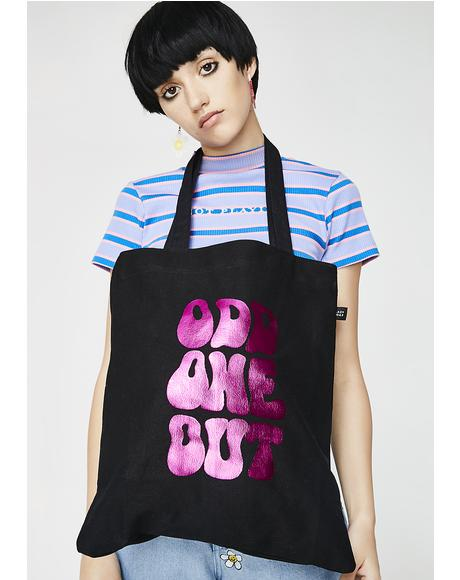 Odd One Out Tote Bag
