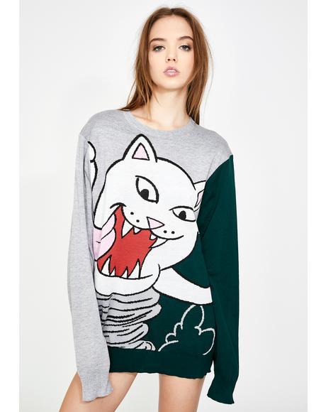 Nermanian Devil Knit Sweater