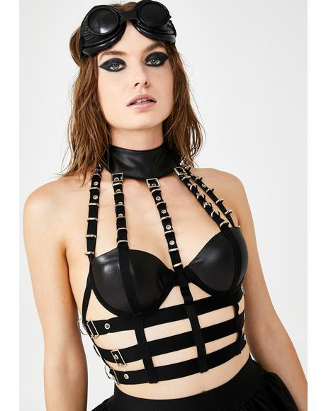 Night Marauder Bustier Harness