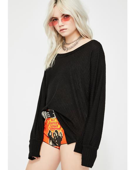 Noir Daydream Dayze Thermal Top