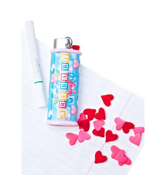 My Bubblegum Fantasy Crybaby Lighter Case