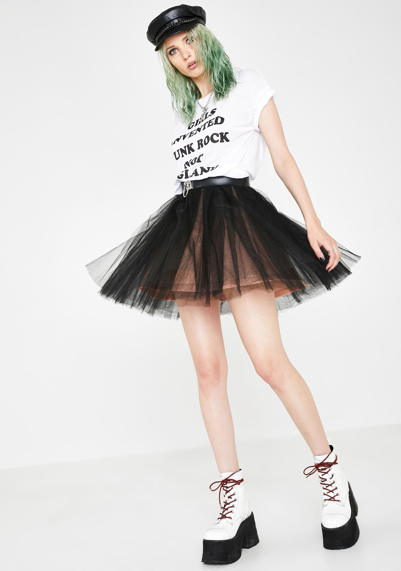 Current Mood Not Ur Princess Tulle Skirt