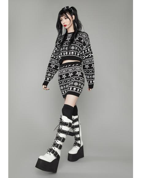Pure Appetite For Destruction Platform Boots