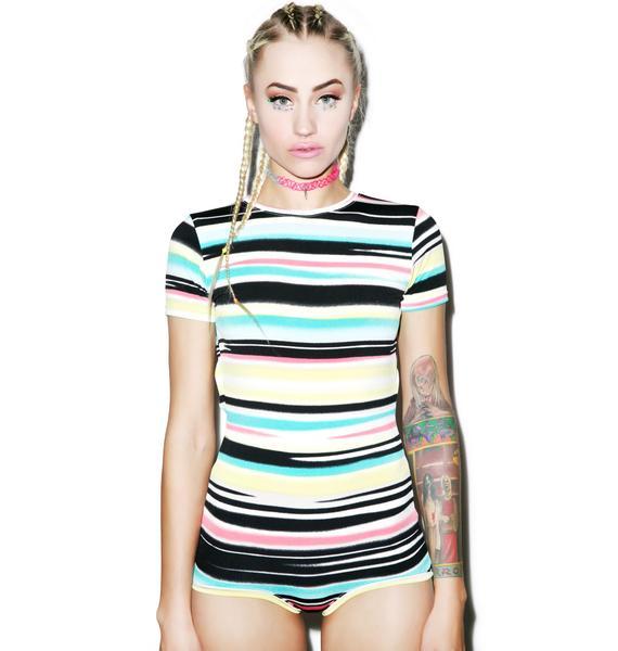 Mamadoux Airbrush Stripe Swimmer