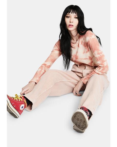 Pink Erin Cocoon Jean