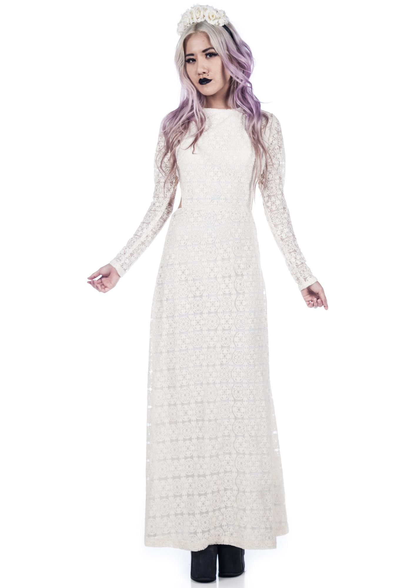 One Teaspoon Twilight Garden Maxi Dress