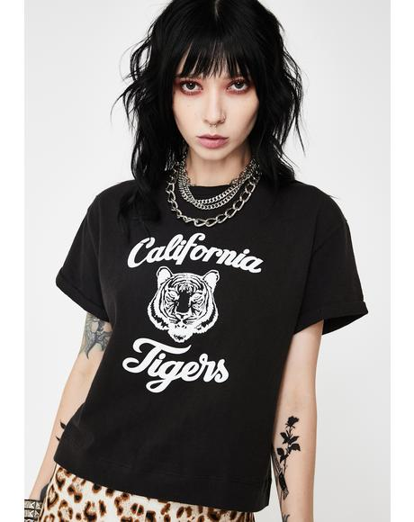 Tigers Jazz Graphic Tee Black