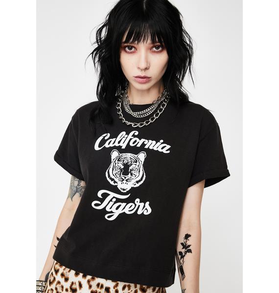 Neema Tigers Jazz Graphic Tee Black
