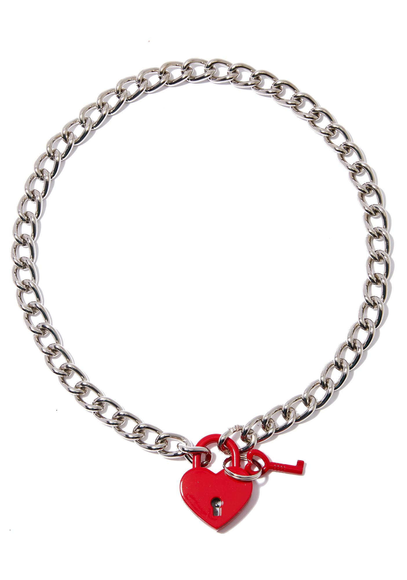 Locked In Love Necklace