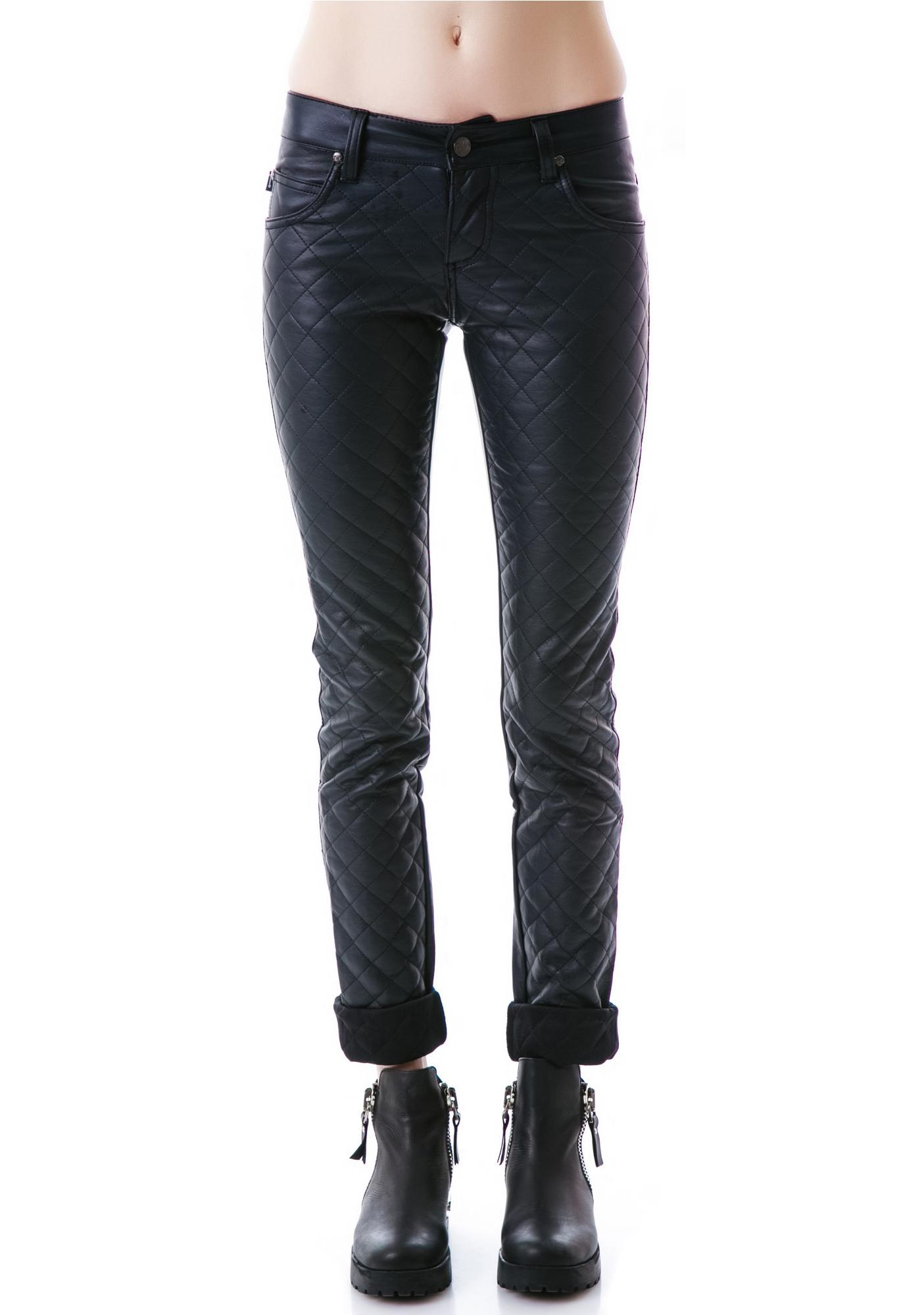 Tripp NYC Quilted Jeans
