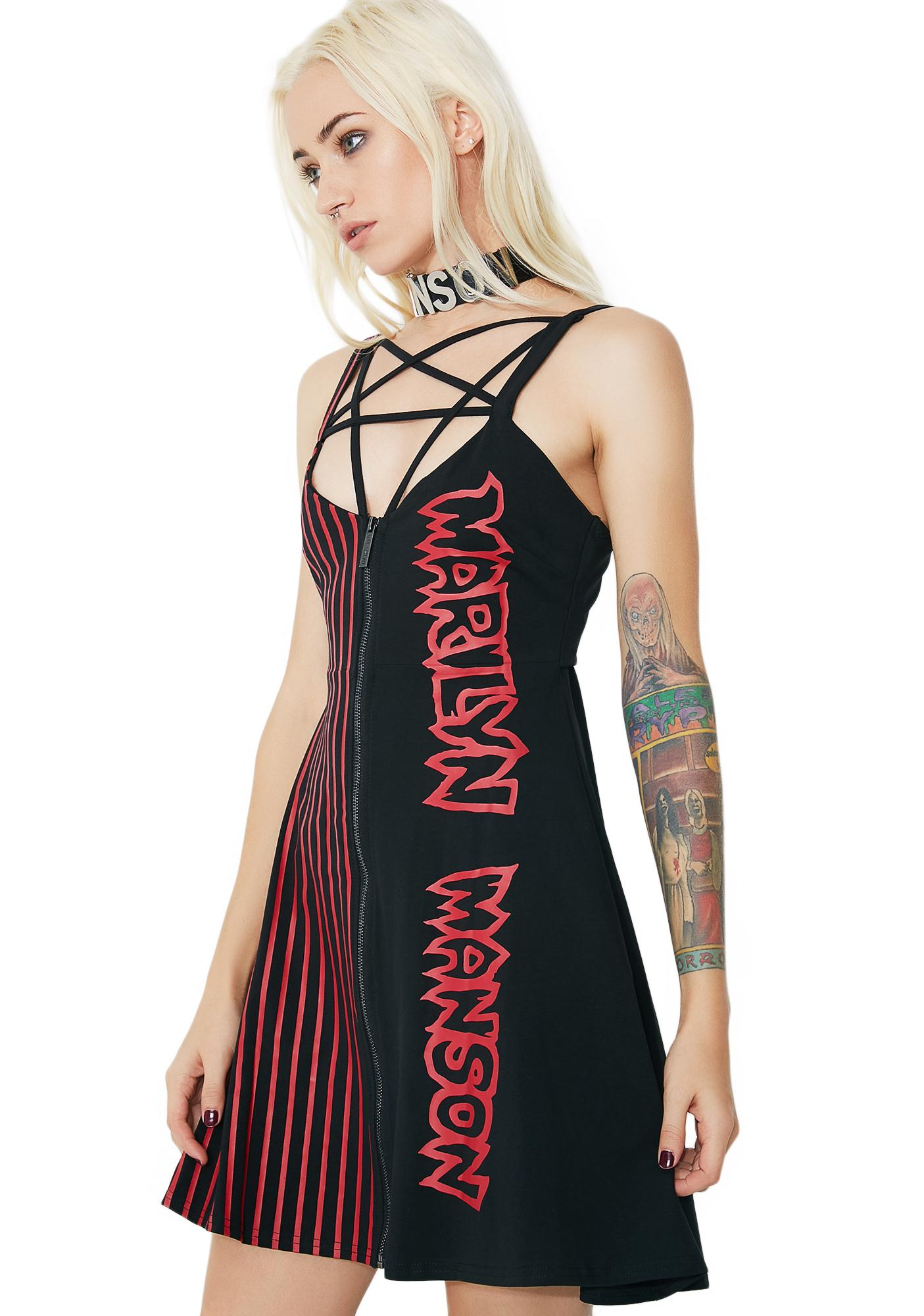Killstar Cryptorchid Harness Dress