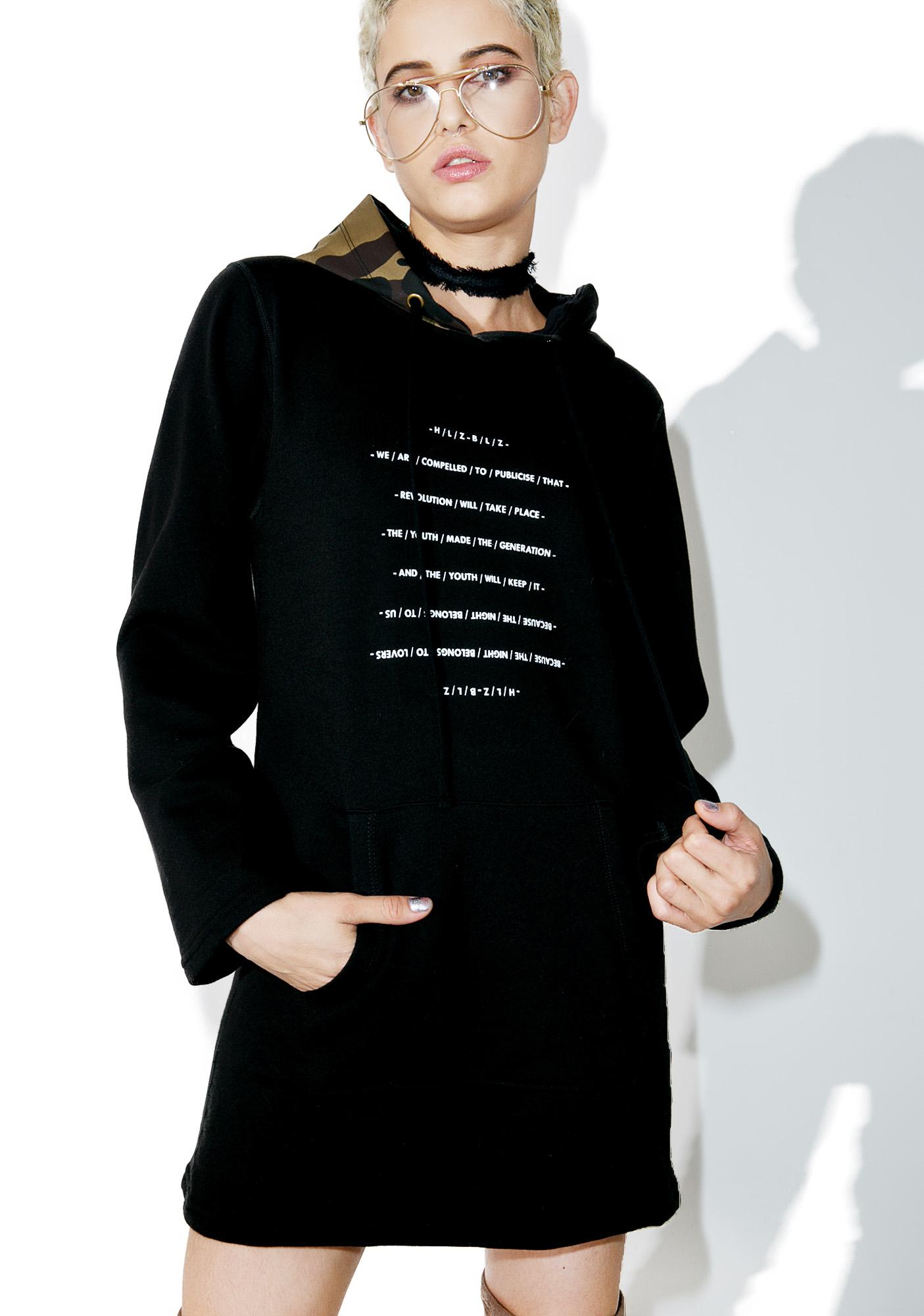 HLZBLZ Generation Hoodie Dress