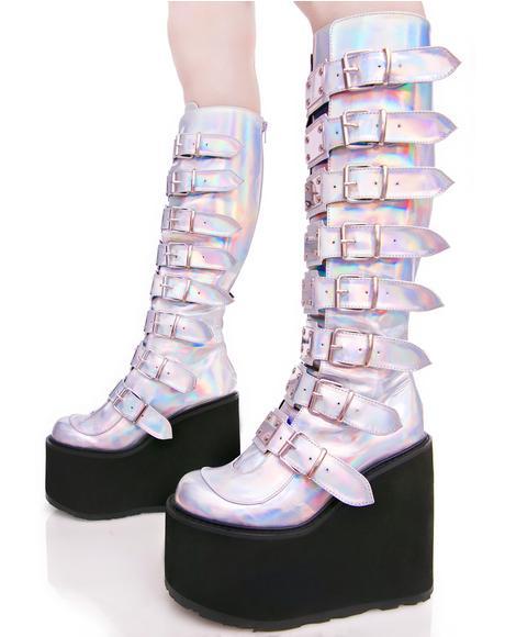 Hologram Trinity Boots