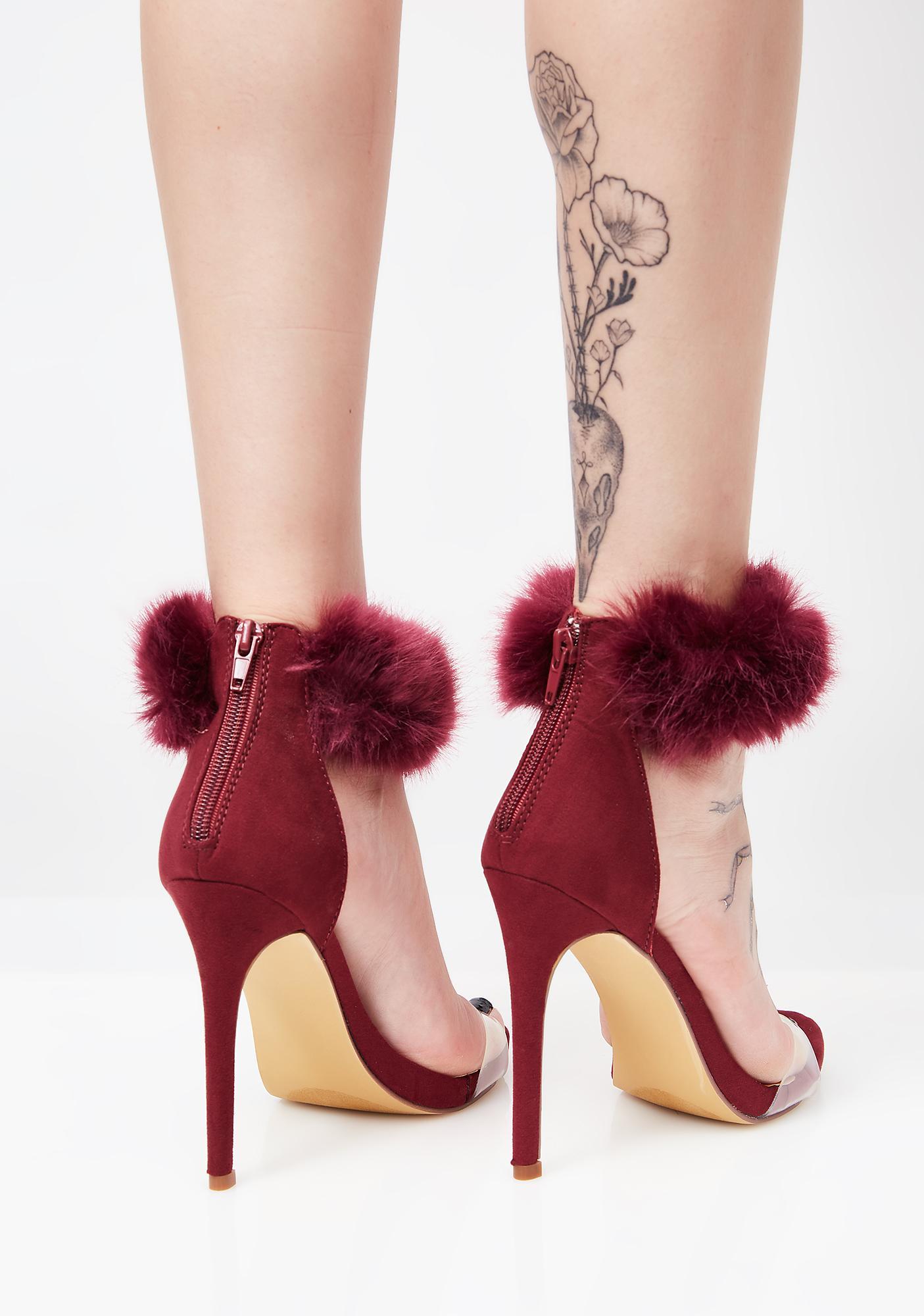 Lush Fuzz Freaq Heels
