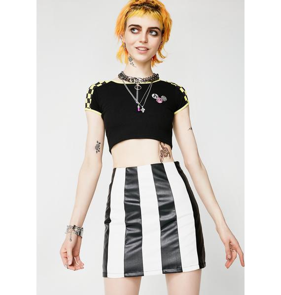 For The Show Mini Skirt
