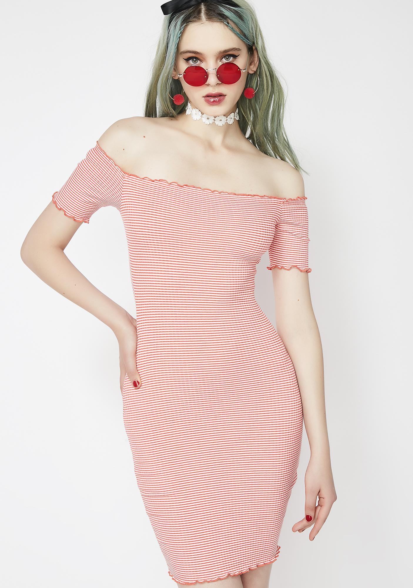 Sweet Candy Stripe Dress