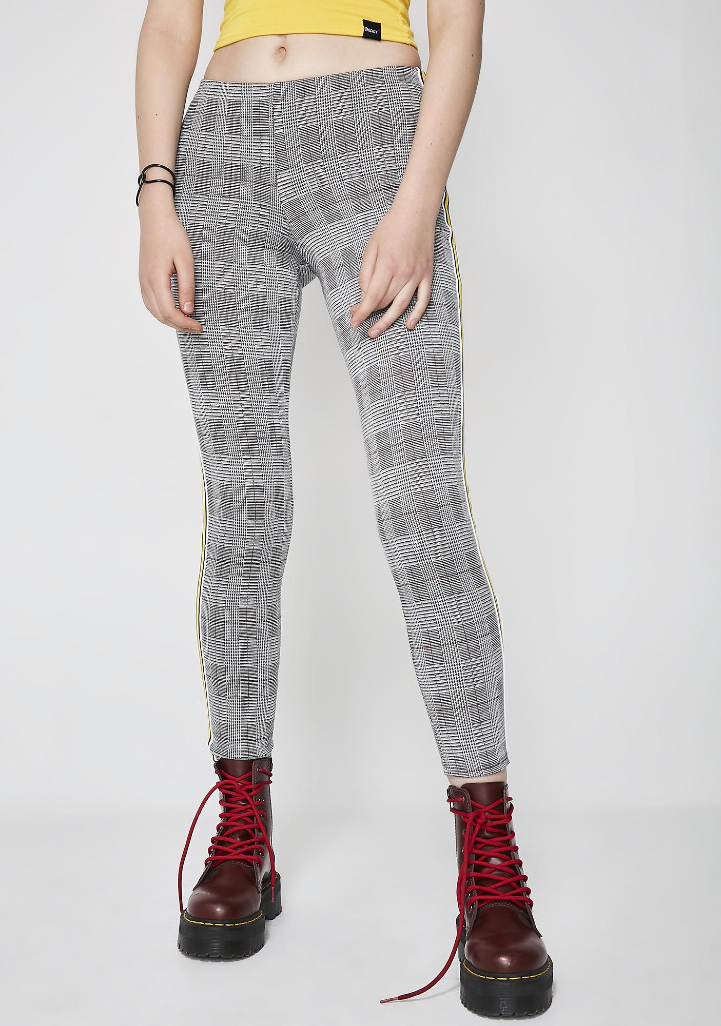 Be About It Plaid Leggings