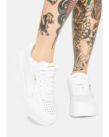 X Charlotte Olympia Cali Wedge Sneakers