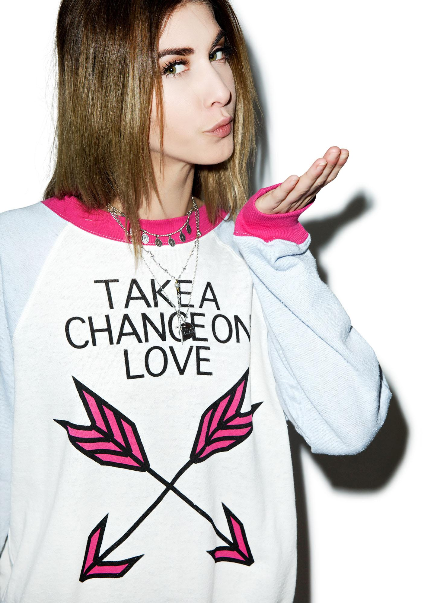 Wildfox Couture Take A Chance Kim's Sweater