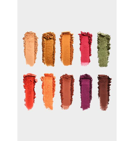 NYX Professional Makeup Off Tropic Eyeshadow Palette