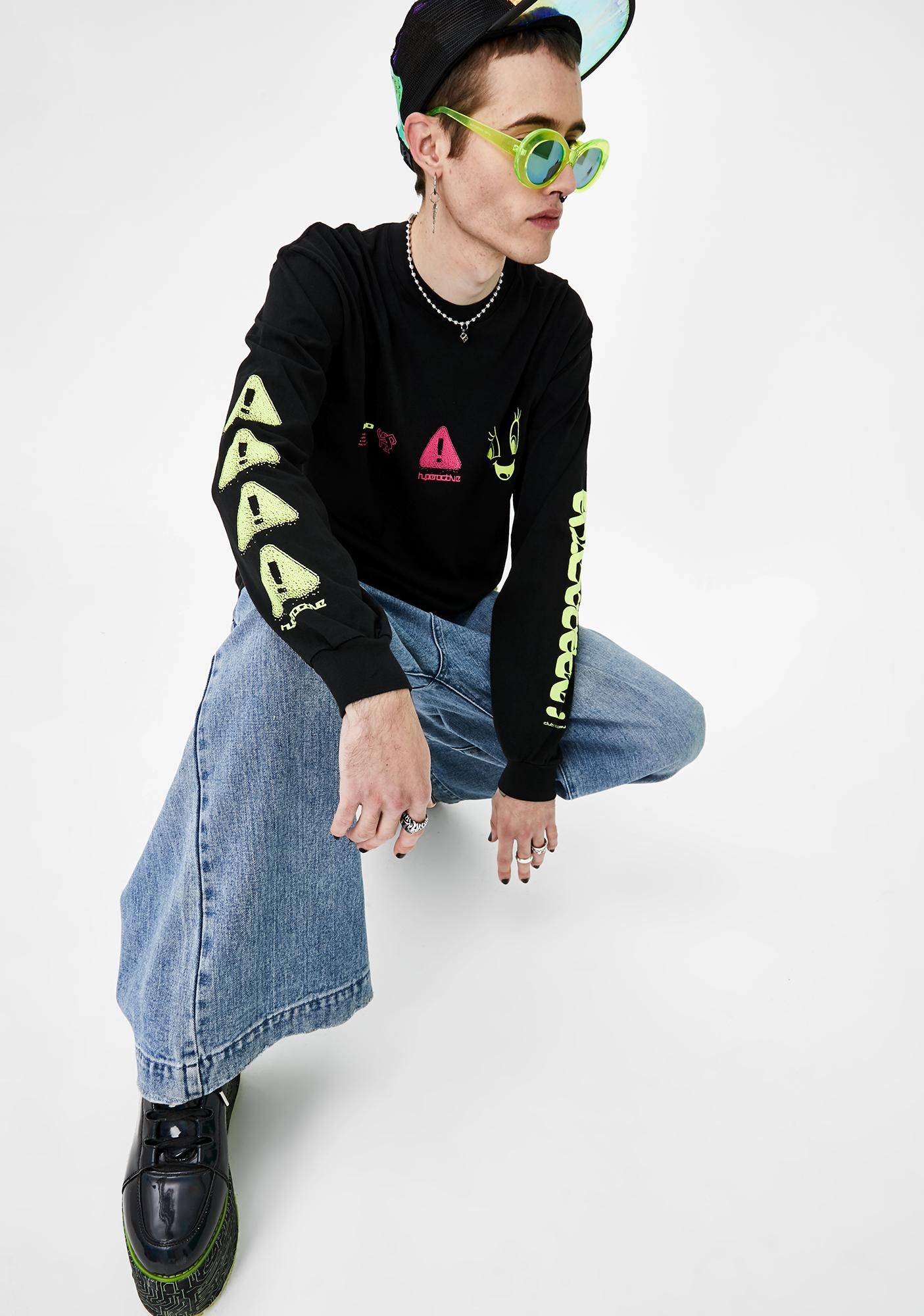 Club Fantasy Hyperactive Long Sleeve Tee