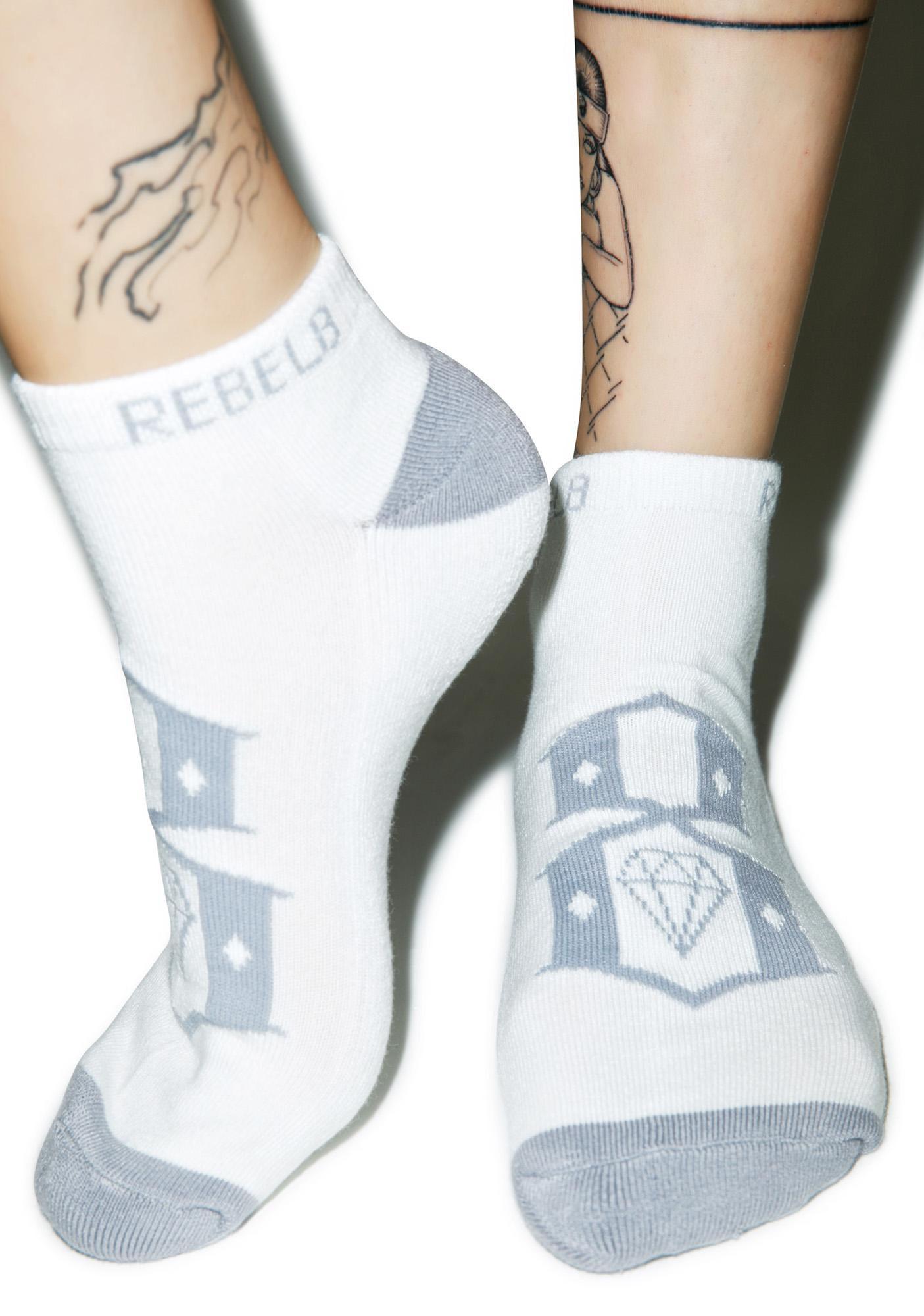 Rebel8 Stealth Ankle Socks