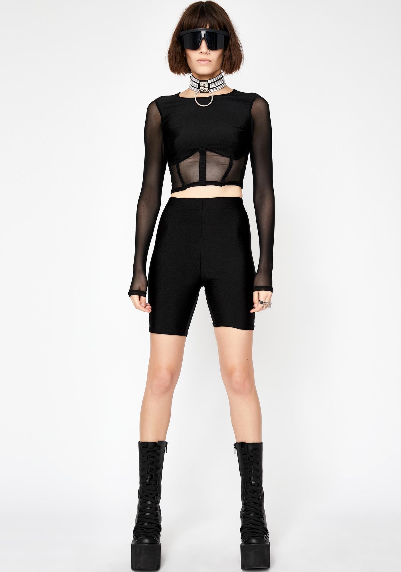 Baddies Only Shorts Set